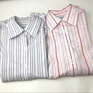 Brooks Brothers women button down blouses